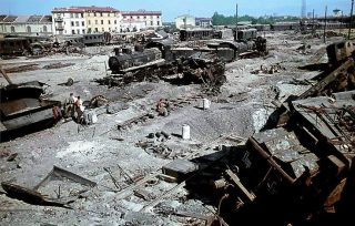 firenze Effects of the Allied bombing of May 2, 1944 on railways Florence