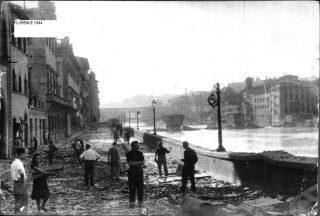 FLORENCE 1944 GUERRA DISTRUZIONE
