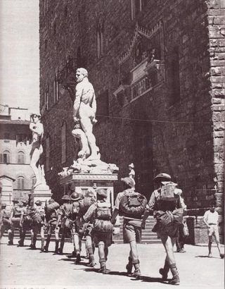 firenze II guerra mondiale Allied troops enter in Florence