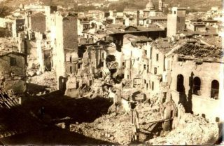 The aftermath of Nazi's blow off, Por Santa Maria, Florence