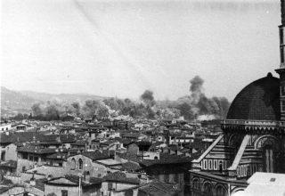 firenze bombardamenti FLORENCE