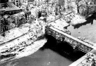 distruzione - firenze ponte vecchio