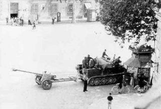 firenze piazza beccaria foto periodo di guerra