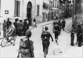 firenze soldati inglesi e partigiani