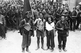 partigiani liberazione florence FIRENZE