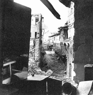 firenze ponte vecchio 1944