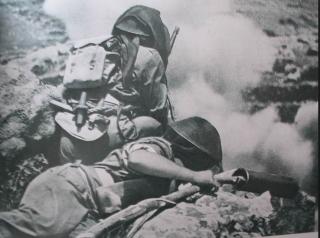 montecassino_Corpo Polacco in combattimenti di Monte Cassino