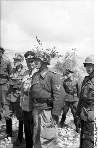 montecassino Albert Konrad Kesselring e suoi soldati
