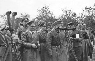 Polen, Bormann, Hitler, Rommel, v