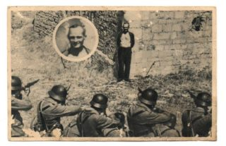 Georges Blind, a member of the French resistance