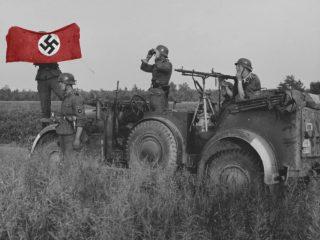 german soldier photo color