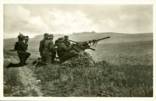 vecchia foto di guerra