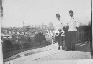 florence piazzale michelangelo 1944