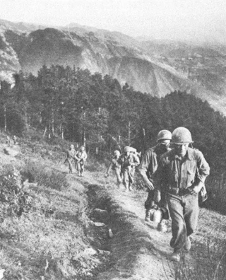85th Division troops on Mt Verruca