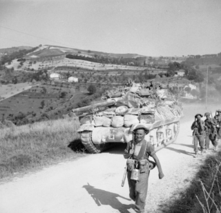 advance to the Gothic Line, 27-28 August 1944