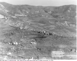 1945 monte della spè to village suzzano