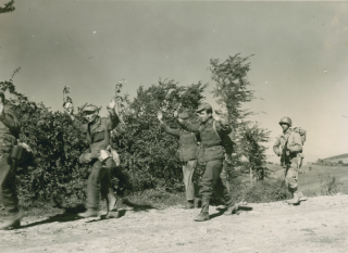german prigionieri linea gotica 1945