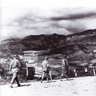 gothic line Statale 65 della Futa settembre 1944