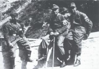 grazzano borgo sanlorenzo linea gotica german soldier