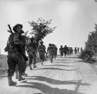 the Gothic Line, 27 August 1944