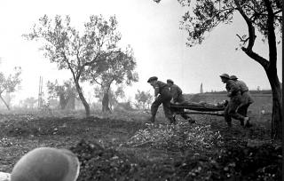 the Gothic Line near River Foglia, 28-29 Aug 1944