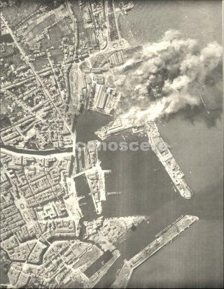 1944 bombardamento impianti porto di livorno