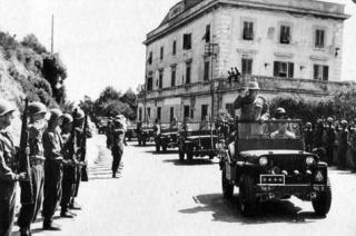 Livorno - Entrata degli americani nel luglio del 1944