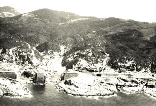 Ricognizione Foto Veduta aerea Livorno Italia Operazione Strangle