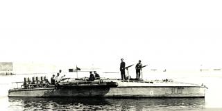 Torpedo motoscafo armato o anti sommergibile motoscafo conosciuta come Mais Orlando cantiere Livorno