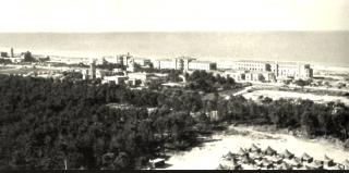 Vista del 12 General Hospital a Livorno Italia (3 dicembre 44-6 lug 45)  foto scattata all'inizio del 1945