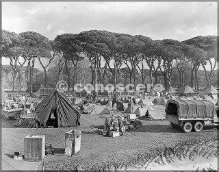 gennaio 1945 accampamento vicino a pisa