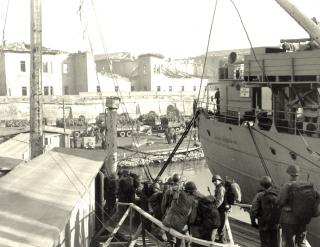 gennaio 1945 porto livorno