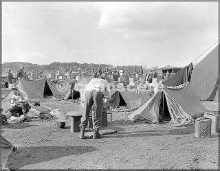 gennnaio 1945 accampamento area pisa