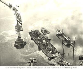 porto di livorno bombing attacks
