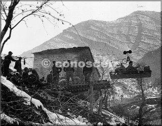 21 feb 45-operazione riva ridge sergente paul long tram caricato cn materiali di consumo