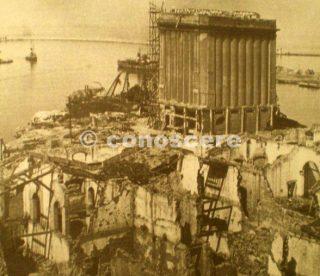 28 maggio 1943 del silos al porto livorno devastata dai bombardamenti