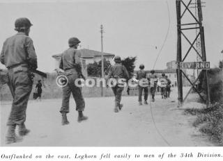 34th-division entra in livorno -1944