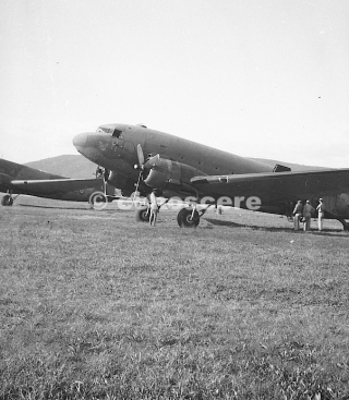 C-47 photo taken in Florence firenze peretola 1945