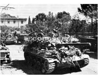 linea gotica CAMOUFLAGED TANK DESTROYERS M-18 MOVING UP