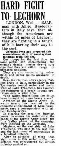 articolo 18 luglio 1944 livorno