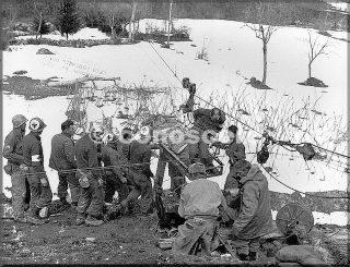 feb 1945 - membri della 126 mountain operazione riva ridge in provincia di bologna