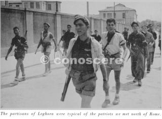 partigiani di livorno a nord di roma 1944