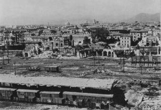 PISA 10 luglio 1944 distruzione dopo bombardamento