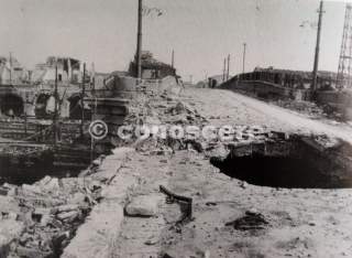 Pisa bombardata Cavalcavia di San Giusto