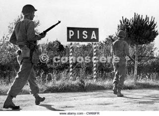US forces enter Pisa settembre 1944