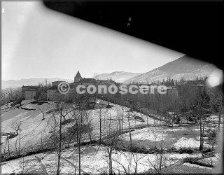 feb 45 veduta della città di vidiciatico dove i soldati della 10divisione mountain preparativi attack mt belvedere