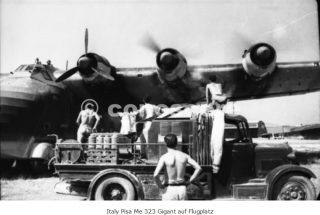 italy pisa me 323 gigant auf flugplatz german military