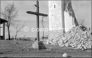 santuario di brasa - castel d-aiano - bo aprile 1945 danni guerra gothic line