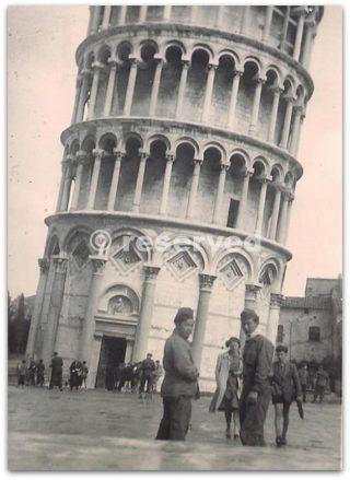 torre di pisa,sergente di fanteria americana che ha trovato troppo bella