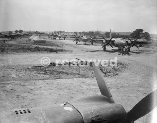 B-26_Marauder_Foggia_Airfield_Comp_Italy_foggia bombardamento
